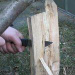 Messer Holzspalten